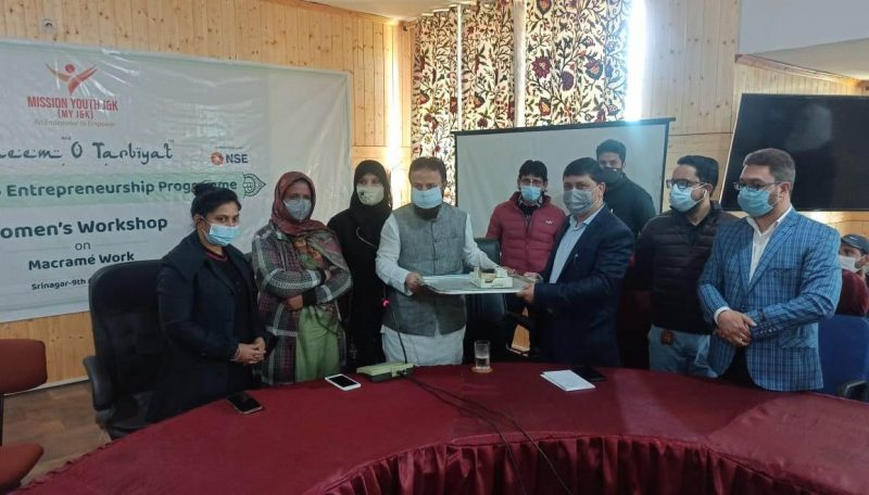 One-day Workshop on Macrame Work conducted at Govt. Polytechnic for Women Srinagar.